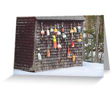 Fishing Bouy Wall Greeting Card