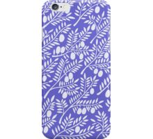 Olive Branches – Periwinkle iPhone Case/Skin