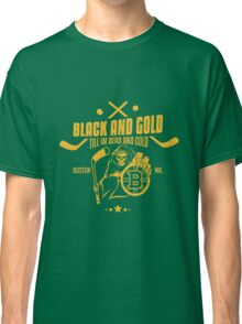 Black and gold - Boston Bruins Classic T-Shirt