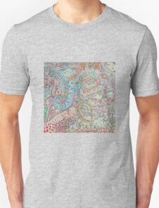Complex faces Unisex T-Shirt