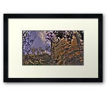 Majestic Blue Mountains... but not as you know it Framed Print