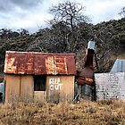 KEEP OUT!!  Hill End NSW Australia by Bev Woodman