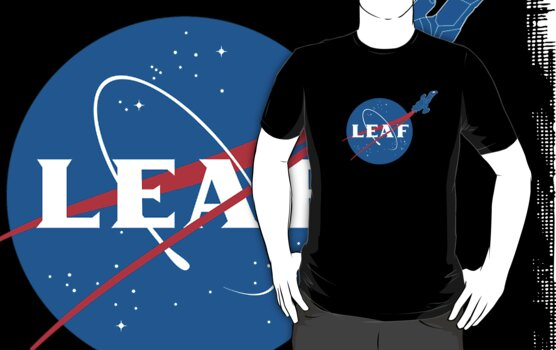 LEAF by geekchic  tees