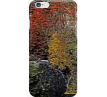 Fall Colors Airbrush iPhone Case/Skin