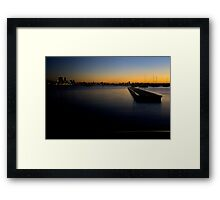 Matilda in the Morning Framed Print