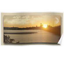 Forster/ Tuncurry Bridge at Sunset Poster