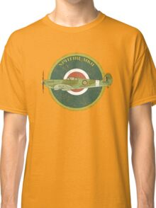 RAF MKII Spitfire Vintage Look Fighter Aircraft Classic T-Shirt