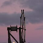 Moonlit Steering Wheel by Stuart Daddow Photography