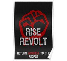 Rise & Revolt Return America Poster Poster
