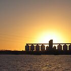 Sunset Silos by Stuart Daddow Photography
