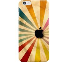 retro apple iPhone Case/Skin