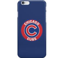 Chicago Cubs Colors Logo iPhone Case/Skin