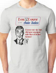 Funny Used Car Salesman Shirts Unisex T-Shirt