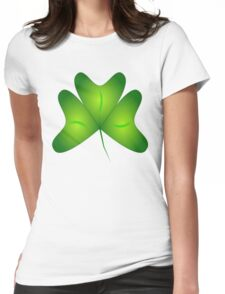 clover Womens Fitted T-Shirt