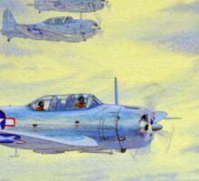 Douglas SBD Dauntless Aircraft Sticker