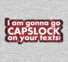 Using CAPSLOCK to YELL! by ezcreative