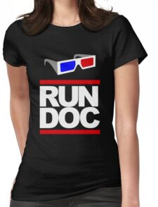RUN - D.O.C. Womens Fitted T-Shirt