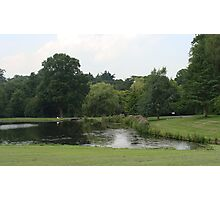 Leeds Castle Garden Photographic Print