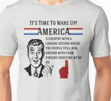 America Political Insult Design Unisex T-Shirt