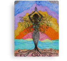 Gaia Celebrating Mother Tree Canvas Print