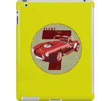 Vintage Feel Lucky Seven Cobra Classic Sports Car iPad Case/Skin