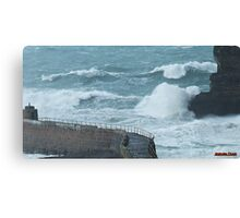 """ Stormy Sea "" Canvas Print"