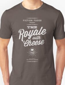 The Royale with Cheese - white T-Shirt