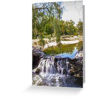Waterfall 7 Greeting Card