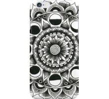 Moon Flower Mandala iPhone Case/Skin