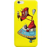 The Devil's Hot Rod iPhone Case/Skin