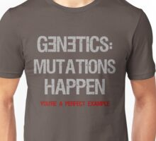Genetics - Funny Science Design Unisex T-Shirt