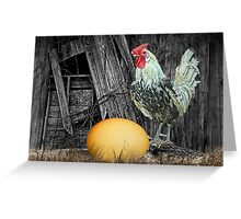 Which came First the Chicken or the Egg? Greeting Card