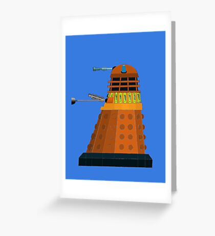 2005 Dalek Greeting Card