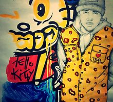 """Chris Brown """"Hello Kitty Gang"""" By TayeTheArtist by TayeTheArtist"""