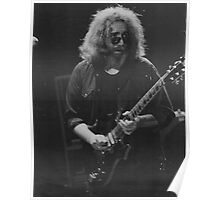 Gragteful Dead - Jerry with guitar Poster