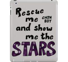 Rescue me chin boy iPad Case/Skin