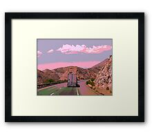 """"""" On The Road Again """" ~ A Trucker's Life Framed Print"""