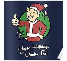 Happy Holidays from Vault-Tec! Poster