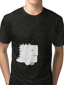 Awkward Dinosaur Boy Tri-blend T-Shirt