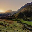 Eagle Crag - Borrowdale by David Lewins