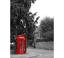 Lonely call Photographic Print