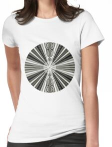 White Sun Womens Fitted T-Shirt