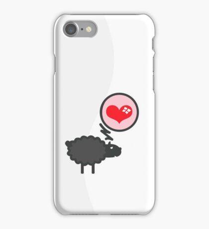 Black Sheep in Love VRS2 iPhone Case/Skin