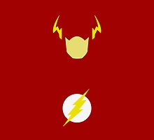 Flash Scarlet Speedster iPhone Case by metroemporium