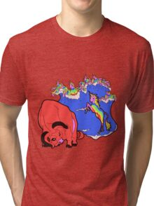 The Last Rainicorn Tri-blend T-Shirt