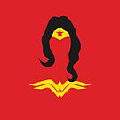 Wonder Woman Amazon Princess iPhone Case by metroemporium