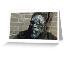 Dancesquatch - Who's Catching Who? Greeting Card