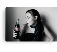 Coca Cola Phase Canvas Print