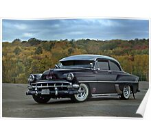 1954 Chevrolet Hot Rod Poster