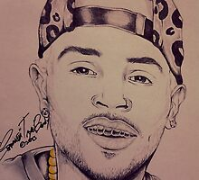 "Chris Brown ""Gold In My Mouth"" By TayeTheArtist by TayeTheArtist"